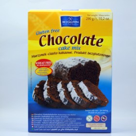 chocolate cake mix bezgluten